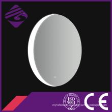 Jnh216 Espejo de baño con pantalla táctil decorativa iluminada ovalada