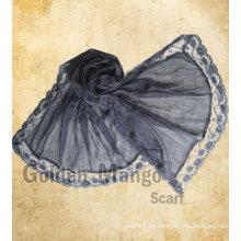 2016 bufandas más nuevas del cordón del algodón Alta costura