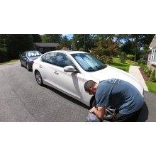 Protetor de carro em PVC impermeável