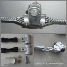 équipement de ligne électrique / pince OPGW