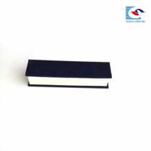 Sencai élégant rectangle magnétique boîte en carton gaufrage logo personnalisé EVA insert