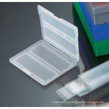 Cargador deslizante de plástico para almacenamiento de diapositivas