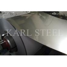 Aod Material 2b Superficie Silt Edge 201 Bobina de acero inoxidable