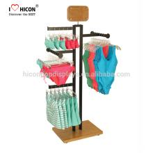 Helfen Sie unseren Kunden bei der Herstellung von Custom Retail Store Design Hanging Unterwäsche und Dessous BH Jean Kleidung Display Rack