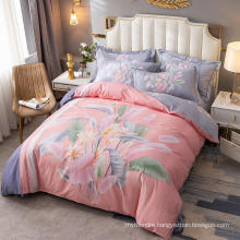 New Product Fashion Style Bedding Set Cotton Fabric Comfortable for 3PCS Full Bed Sheet