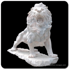 Vincentaa high quality natural marble carving statue lion