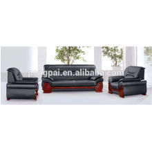 Wooden frame hot sale PUleather Sofa 04