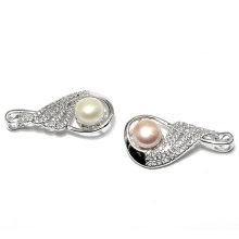 Chine Factory Elegant Pearl CZ Zircon Jewelry Pendant for Lady
