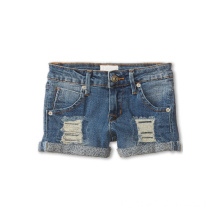 Dip Dyed Beached enfants mélangés Shorts Denim