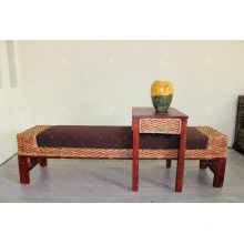 2017 Best Price Water Hyacinth Bench, Table Stool, Lamp for Bedroom Set