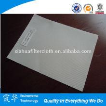 Permeabilidad al aire tejido de filtro de tejido de doble capa