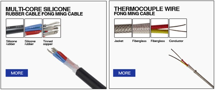 6 core 350C High Temperature Cable