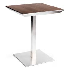 Popular Design Wooden Restaurant Bistro Square Dining Tables