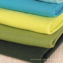Linen Cotton Fabric, 20s Cotton Linen Woven Plain Fabric