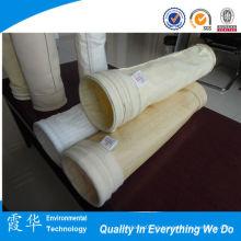 Filtros de saco de feltro de agulha de alta temperatura para poeira de cimento