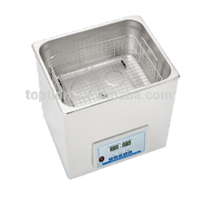 Heating power adjustable surgical instruments ultrasonic cleaner TP14-400A,14.4L,400W