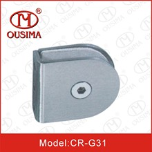 Stainless Steel Round Shape Glass Fixing Clamp (CR-G31)