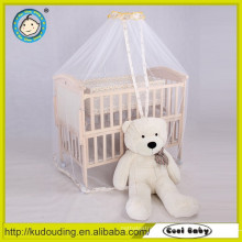 Hot sale europe standard baby wooden single bed with drawer
