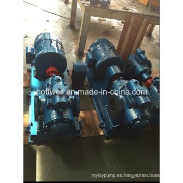 Bomba de aceite combustible con triple tornillo aprobada por el CE