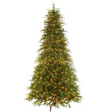 9 FT. Feel-Real Northern Frasier Artificial Christmas Tree with Clear Lights (MY100.081.00)