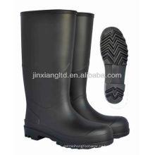 Черные лакированные ботинки женские JX-992Lady
