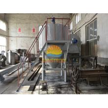 Four de carbonisation continue de charbon actif de coquille de noix de coco de vente à chaud 2016