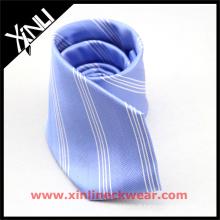Anunciou listras todas as gravatas uniformes feitos a mão da escola do estudante do poliéster