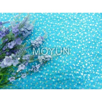 """POLY KNITTING WITH 3MM +5MM SEQUIN EMBD 50/52"""""""