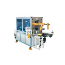 Machine de démarrage du moteur du ventilateur Type horizontal Bobine de stator Machine d'enroulement