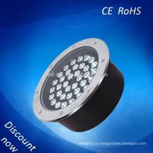 Открытый IP68 Алюминиевый мини светодиодный подземный свет
