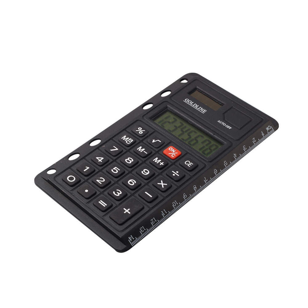 Dual Power Super Thin Pocket Calculator