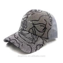 Флеш-колпачок для пользовательского логотипа с бейсбольной шапкой из сетки