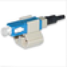 Conector rápido MM SC 62.5 conector de fibra óptica / SC montagem de campo upc conector rápido de fibra