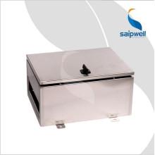Boîtes en métal de projet imperméable extérieures de la CE IP66 d'acier inoxydable de boîte d'usine de Saipwell à faible coût