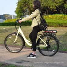 women bike 26 inch 700c  light weight electric bike city not foldable 250w bicycle