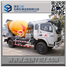 Dongfeng 5 M3 Concrete Mixer Truck with Schwing Technology