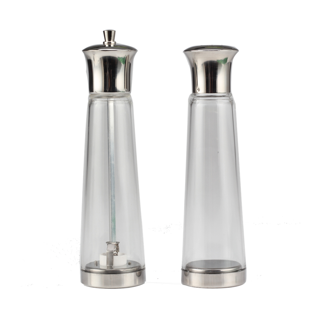 Glass Salt Shaker Set