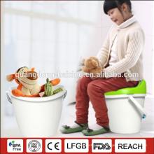 HAIXING Durable plastic fishing stool Fishing barrel bucket toy storage box