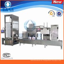 Máquina de rellenar líquida 1-5L para la pintura de agua / el agente de curado
