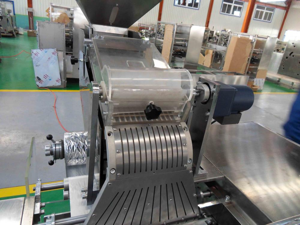 feeding system of stripping packing machine