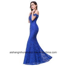Elegant Crystal Beaded Royal Lace Mermaid Dress Dress Gown