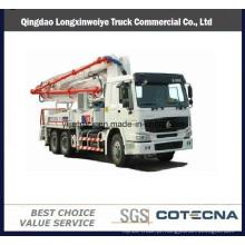 2016 caminhão novo da bomba concreta de Sinotruk HOWO 42m 6X4