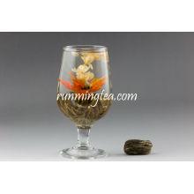 Qiu Shui Yi Ren(Lily's lady green blooming tea RMT-BMG006) EU STANDARD