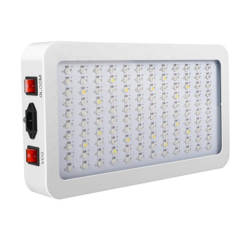 LED Hydroponic Grow Light doppio interruttore veg bloom