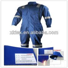 Overol protector contra incendios CVC autorizado por SGS