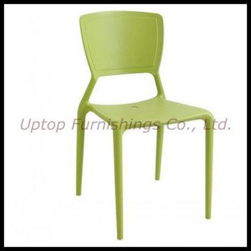 Кофейня на улице зеленый пластиковый стул (СП-UC308)