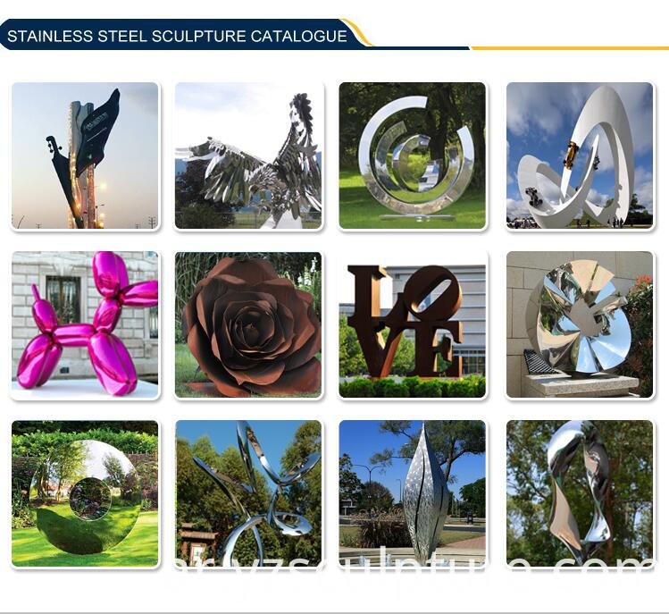 stainlee steel sculpture