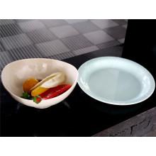 Utensílios de mesa personalizados da placa da bacia da melamina (CP-011)