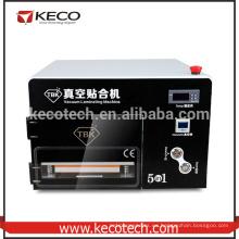 Alta calidad TBK 5 en 1 laminación Laminación de la máquina para el teléfono móvil lcd reacondicionar