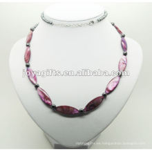 Moda Hematita púrpura perla Shell Wrap